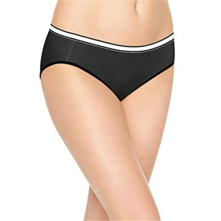 00 Womens Cool Comfort Cotton Stretch Hipster, Assorted - Pack of 8 - Size 8 - image 1 de 1