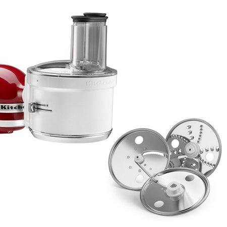 KitchenAid RKSM1FPA Food Processor Attachment (Certified Refurbished) (Cook Processor Kitchenaid)