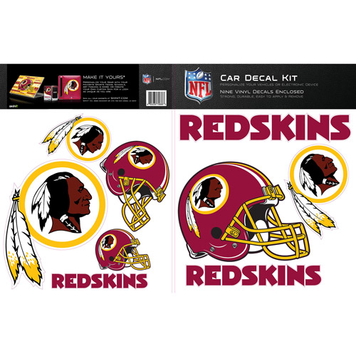Skinit Washington Redskins Car Decal Kit