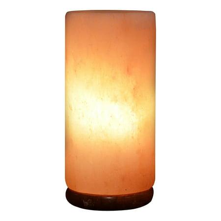 Himalayan Rock Salt Cylinder Lamp, 9