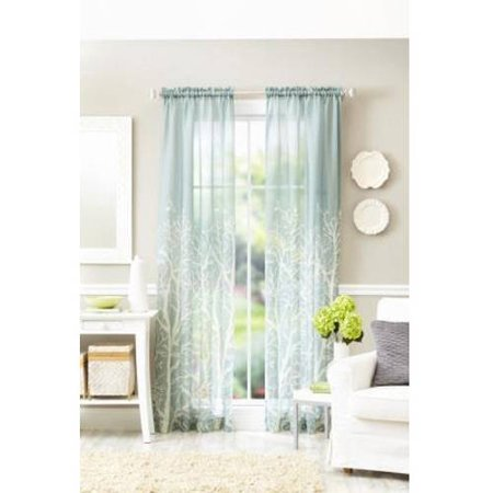 Better Homes and Gardens Arbor Springs Semi-Sheer Window Panel