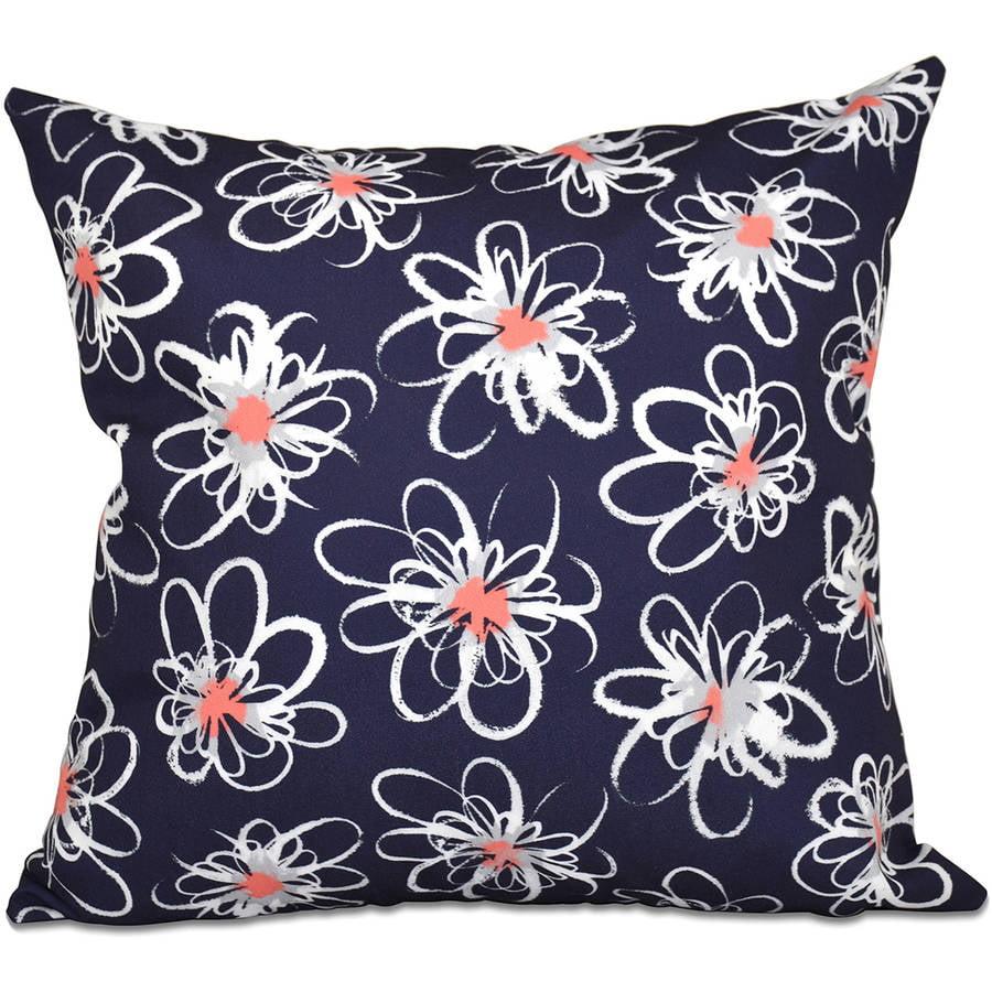 E by design O5PFN434PU5-16 Printed Outdoor Pillow