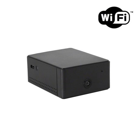 720P HD WiFi Wireless Internet Streaming Mini Black Box Home Security Camera Nanny Cam by