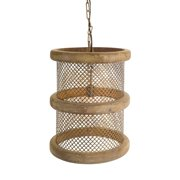 Walley Hanging Lamp 1-Light Drum Pendant