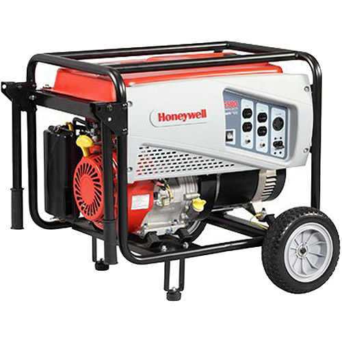 Honeywell 6038, 6,500 Watt Portable Gas Powered Generator