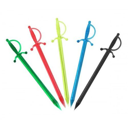 Cocktail Parasol Picks (BarConic Sword Cocktail Picks (Box of 250),)