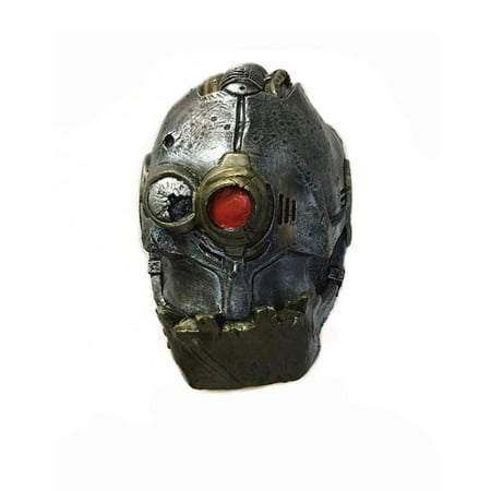 Iron Cyclops Overhead Adult Latex Mask Halloween Costume Accessory