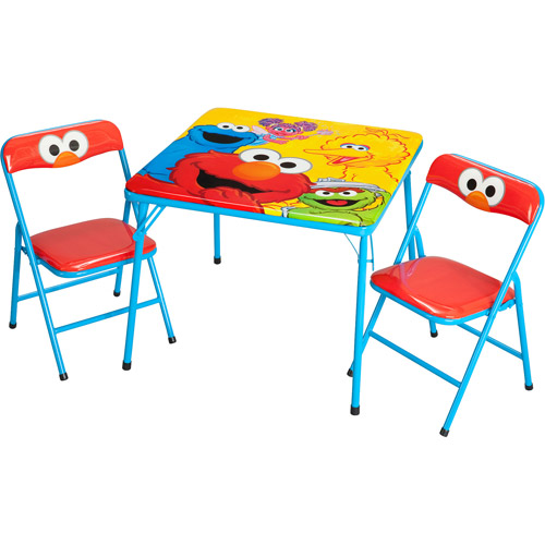 Sesame Street Activity Table and Chairs Set