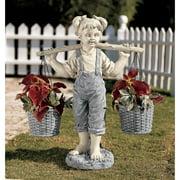 Design Toscano Flowers for Felicity Garden Sculpture