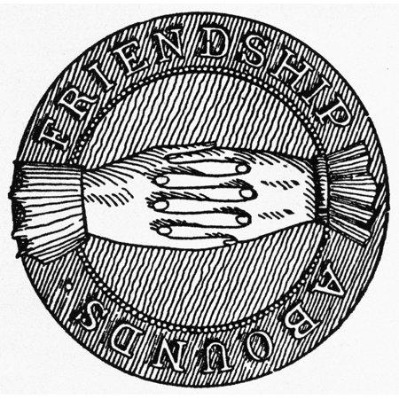 Stretched Canvas Art - Masonic Symbol. /N18Th Century Masonic Seal ...