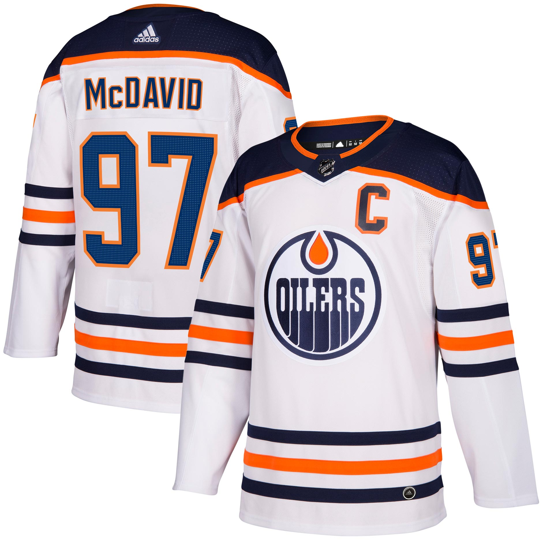Connor McDavid Edmonton Oilers adidas NHL Authentic Pro Road Jersey -  Premade a980206a988