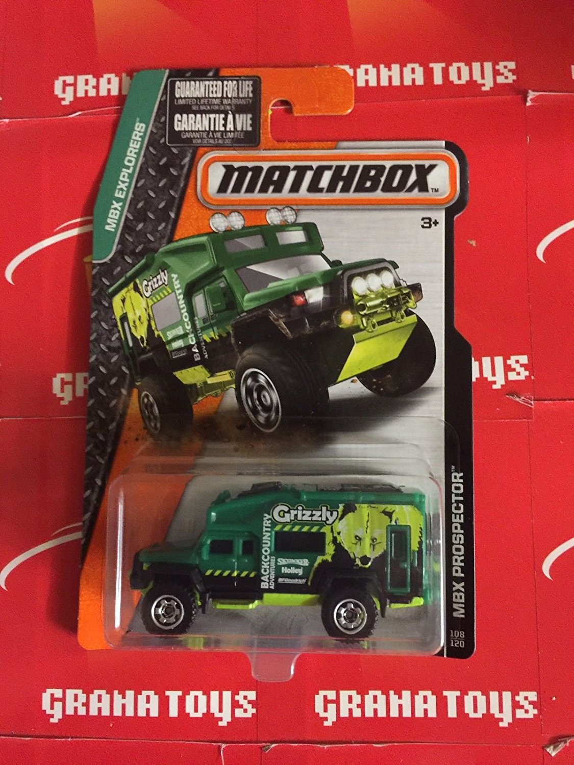 MBX Prospector Green 108 2015 Matchbox Case K By Qiyun From USA by