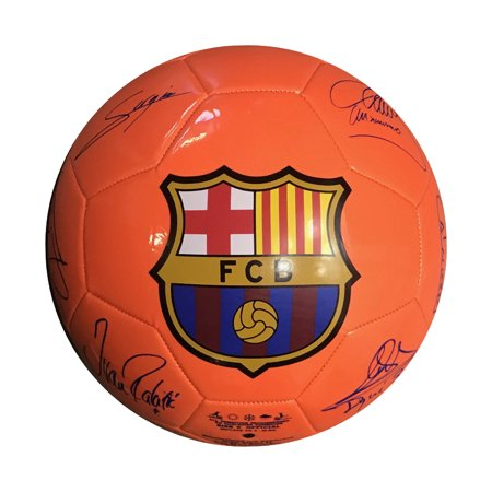 Icon Sports FC Barcleona (FCB) Signature Official Size 5 Regulation Soccer (Official Soccer Ball Size)