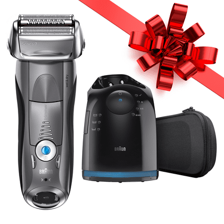 Braun Series 7 790cc ($40 in Rebates Available) Men's Electric Foil Shaver, Rechargeable and Cordless Razor with Clean & Charge Station