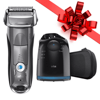 Braun Series 7 790cc ($80 in Rebates Available) Men's Electric Foil Shaver, Rechargeable and Cordless Razor with Clean & Charge Station
