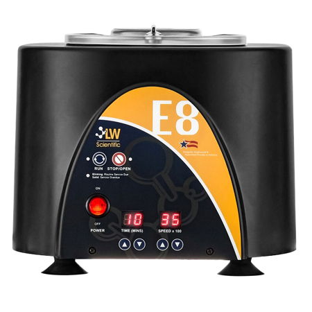 LW Scientific E8 Centrifuge With 8 Place Digital Speed Angled