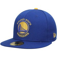 Golden State Warriors New Era Current Logo 59FIFTY Fitted Hat - Royal