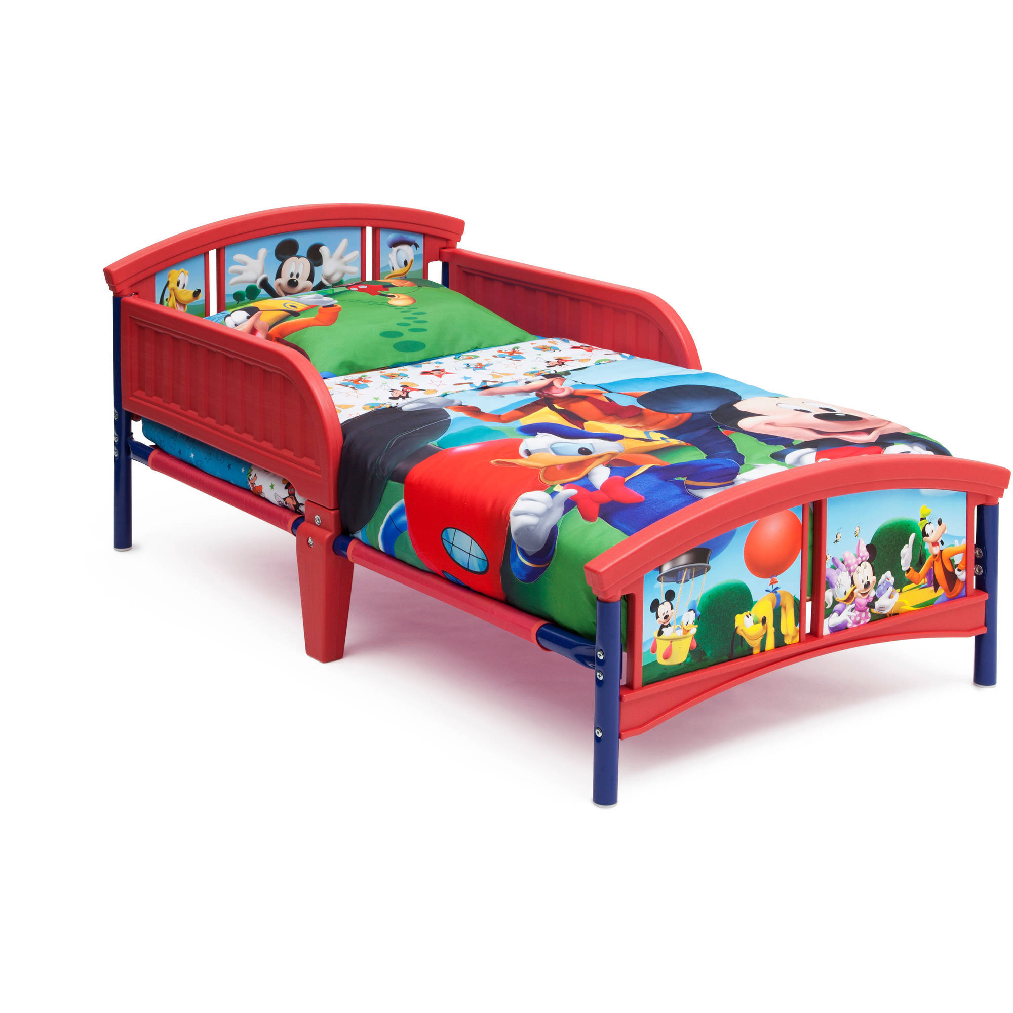 Disney Mickey Mouse Room In A Box With Bonus Chair Walmart Com