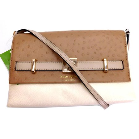 choose newest discover latest trends official price Kate Spade Houston Street Exotic Loula Leather Crossbody Bag Brown