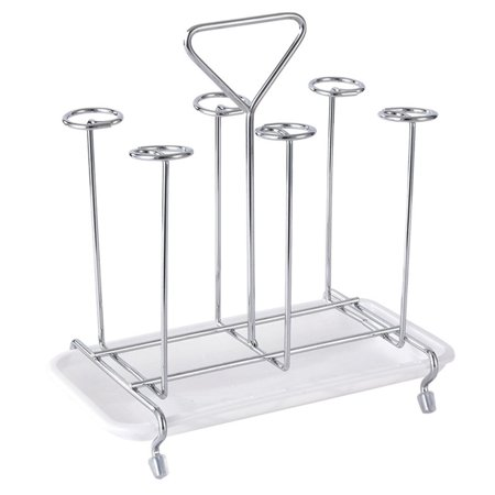 Glass Cup Water Storage Shelf Drying Cup Drainage Organizer Kitchen Stand - image 1 of 10