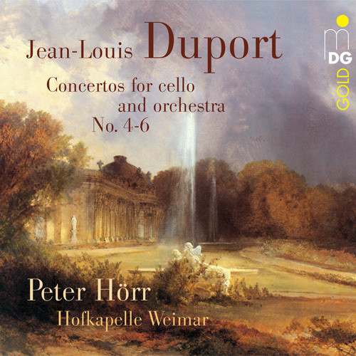 Jean-Louis Duport Concertos for Cello & Orchestra No. 4-6 [Vinyl] by