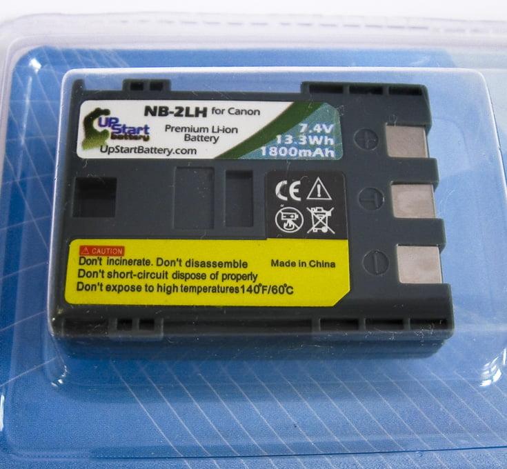 2x Pack Compatible Canon Digital WIRELESS Battery - Compatible for Canon NB-4L Digital Camera Battery (890mAh, 3.7V, Lithium-Ion) - image 1 de 3