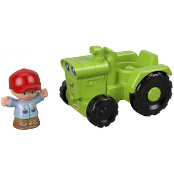 Fisher-Price Little People Helpful Harvester Tractor