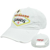 4177bf4f12d4 Product Image Guinness Extra Stout Irish Beer Las Vegas Strip Distressed  Garment Wash Hat Cap