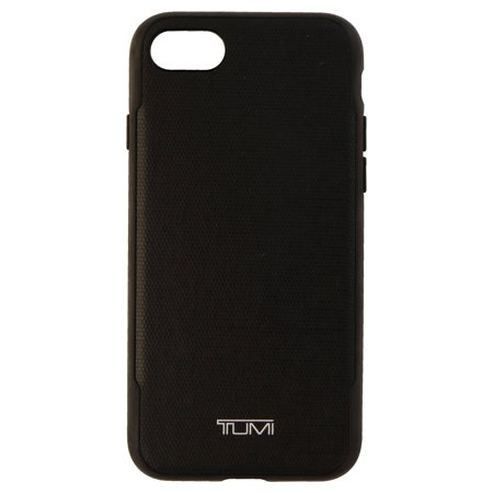 Tumi Coated Canvas Co-Molded Case Cover for Apple iPhone 8/7 - Black