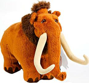 Ice Age Continental Drift Manny Plush