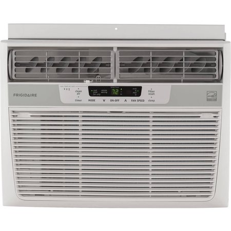 Frigidaire Ffre1233s1 12 000 Btu 115V Window Mounted Compact Air Conditioner With Temperature Sensing Remote Control