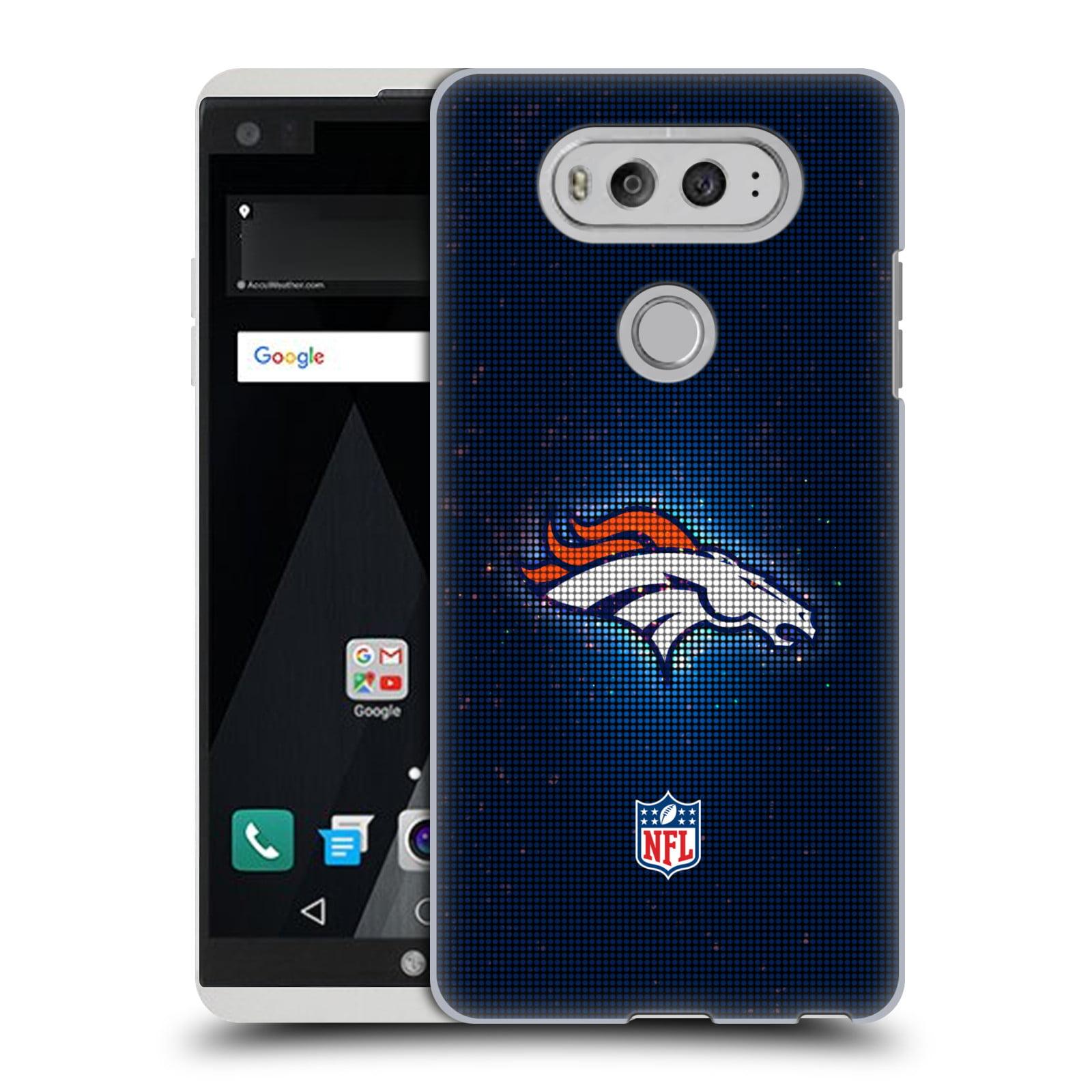 OFFICIAL NFL 2017/18 DENVER BRONCOS HARD BACK CASE FOR LG PHONES 1