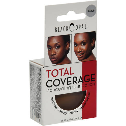 Black Opal Total Coverage Concealing Foundation, Carob, 0.40 oz