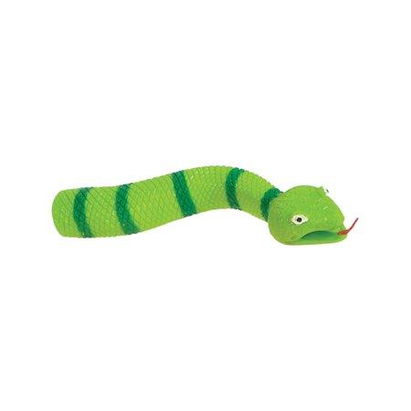 Medusa Puppet Green Finger Snake Puppet Costume Accessory