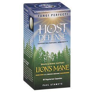 Host Defense ® Lion's Mane Capsules, Memory & Nerve Support, 60 count