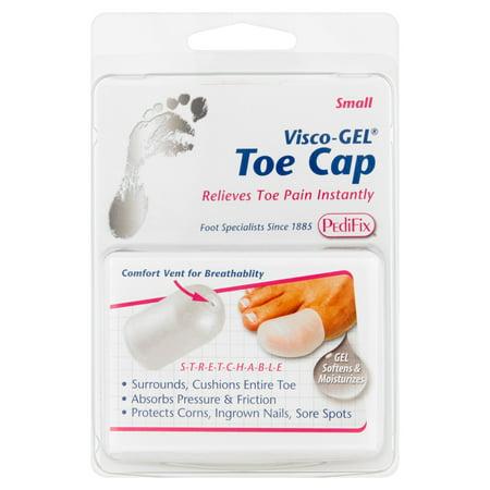 Pedifix Visco-Gel Top Cap, Relieves Toe Pain,