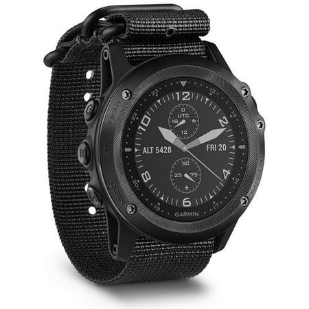 Garmin 010-01338-0A Tactix Bravo GPS Watch in Black with Nylon Straps