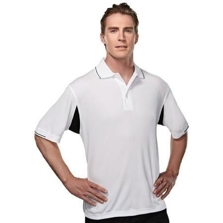 Tri Mountain Mens Big And Tall Ultracool Golf Shirt
