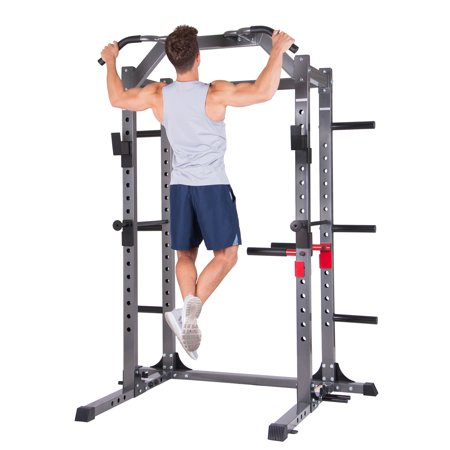 - Body Power PBC5380 Deluxe Power Rack Cage System