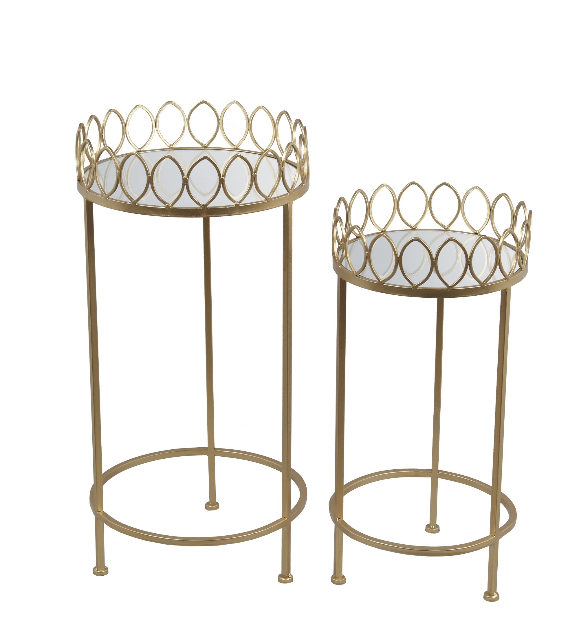 2 Pc Plant Stands - Iron