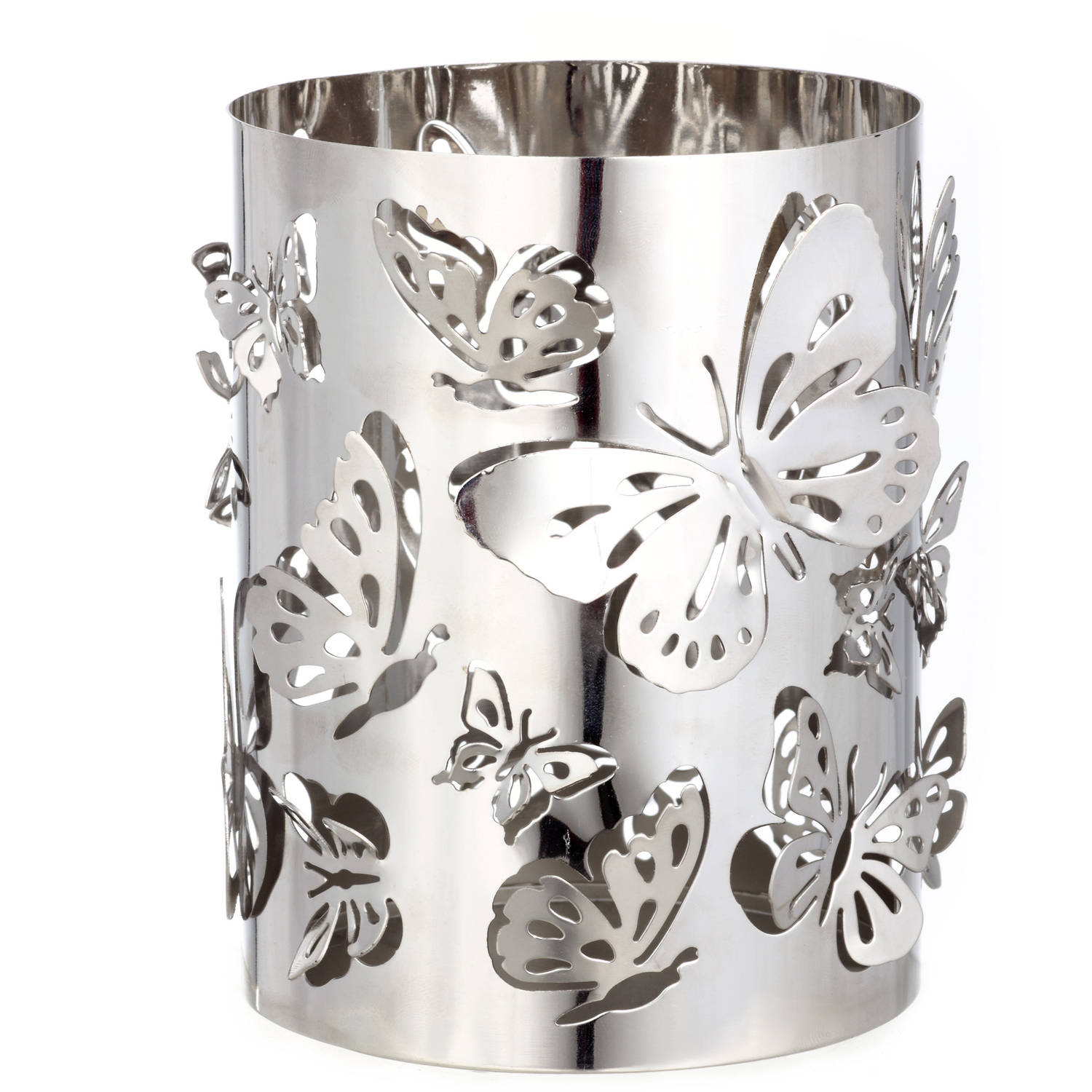 Better Homes and Gardens Tall Metal Candle Holder, Butterfly by Testrite