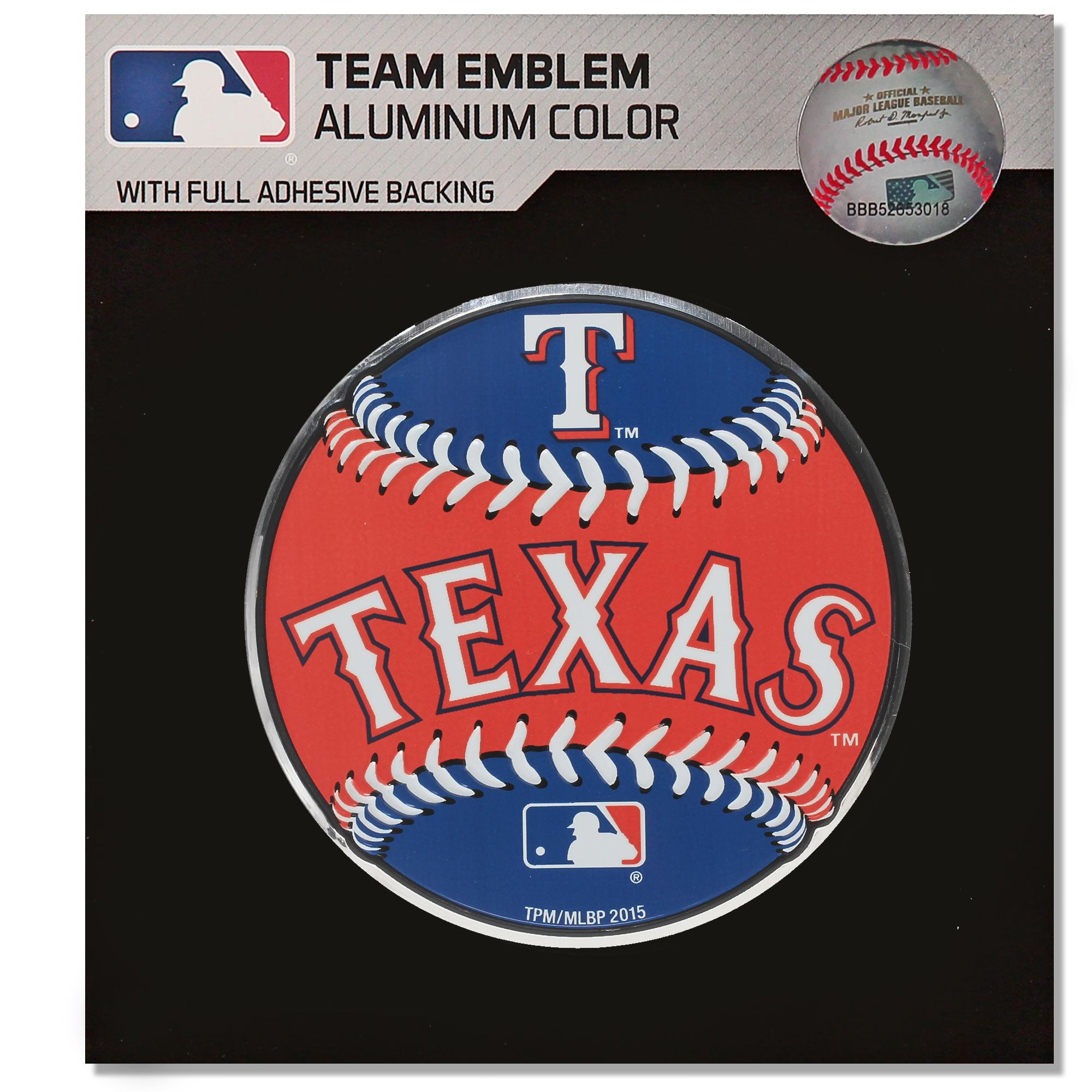 Texas Rangers Baseball Emblem Decal - No Size