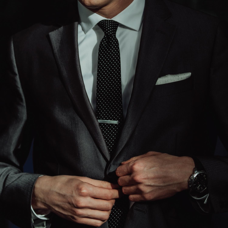 UJOY Tie Clip Shirts Cufflinks Set Business Parts Necktie Pins Bars Cuff Links Box for Men