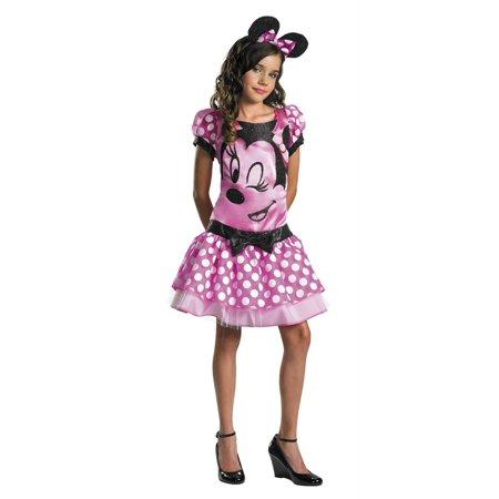 Minnie Mouse Pink Child 7-8 - image 1 de 1
