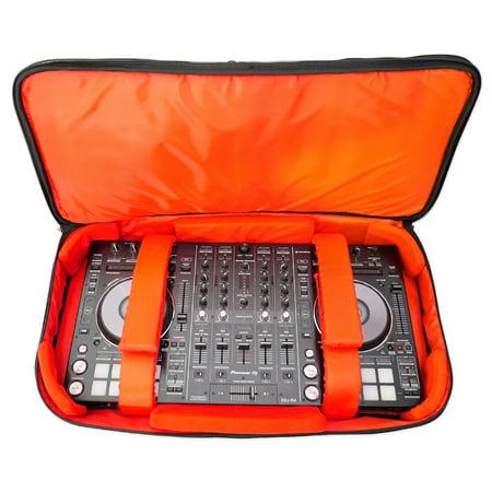 Control Pro Dj Software Controller (Rockville RDJB20 DJ Controller Travel Bag Carry Case For Numark iDJ)