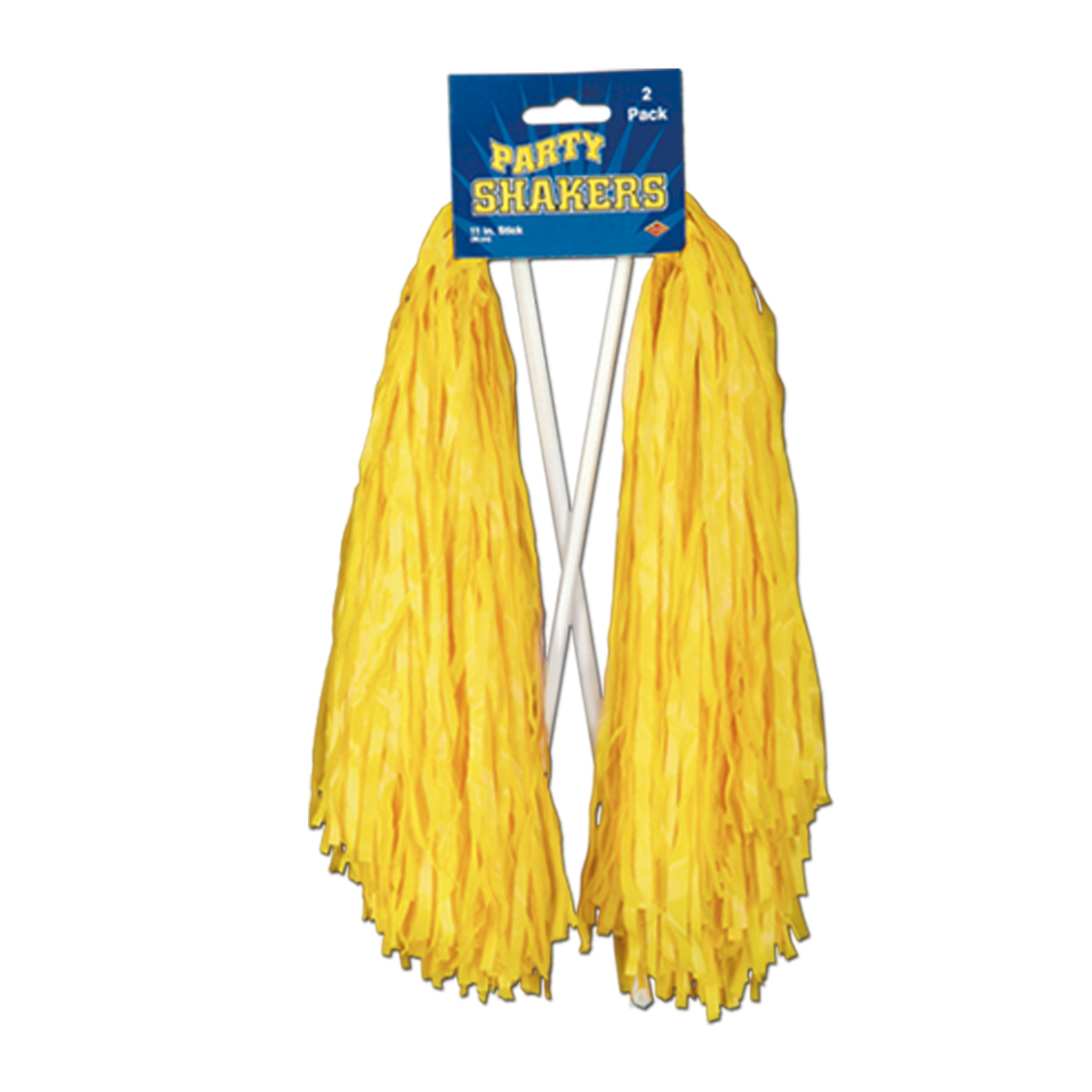 """Beistle Football Cheerleader Party Shaker 2pc Pom Poms, One-Size 12"""""""