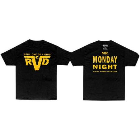 Wwe Wrestling Rvd Rob Van Dam Mr  Monday Night T Shirt