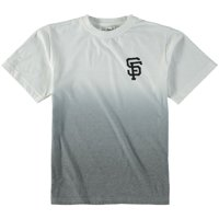 San Francisco Giants Wright & Ditson Youth Horizon Dip-Dyed T-Shirt - White/Gray