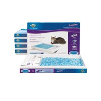 PetSafe ScoopFree Self-Cleaning Cat Litter Box Tray Refills with Blue Non-Clumping Crystals