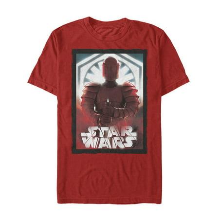 Star Wars The Last Jedi Elite Praetorian Guard Mens Graphic T Shirt